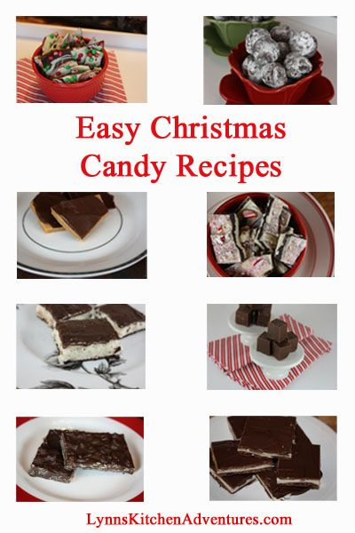 A Few of My Favorite Quick and Easy Christmas Candy Recipes