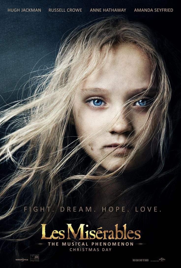 Les Miserables: Share the amazing new poster.