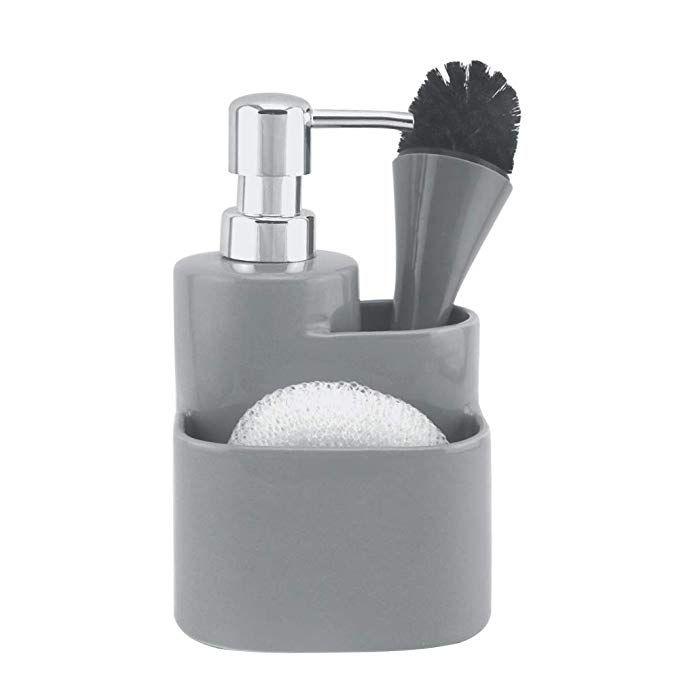 Global Village Bathroom Ceramic Lotion Soap Dispenser Pump ...