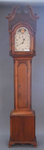 Mahogany tall clock, Henry Ford Museum, Greenfield Village, ht. 84in. - Realized Price: $2,478.00