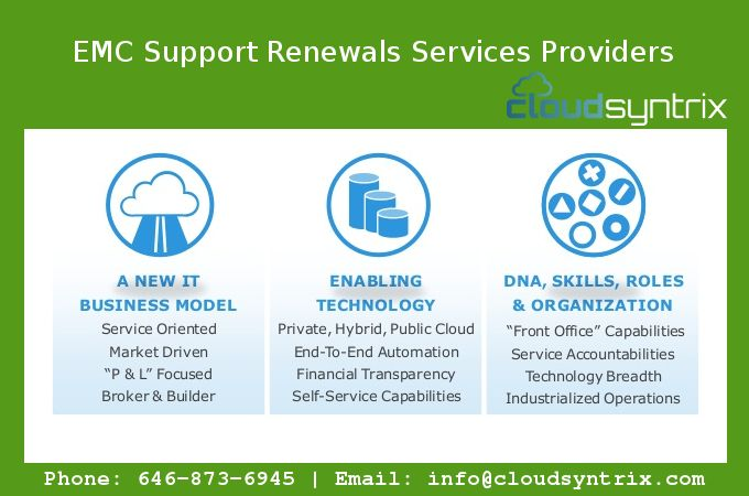 Get secure & reliable emc support renewals services providers for your business Get Quote!
