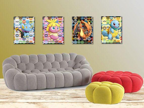 pokemon wall art pokemon posters pokemon by rainbowprintables pokemon posterbedroom ideas