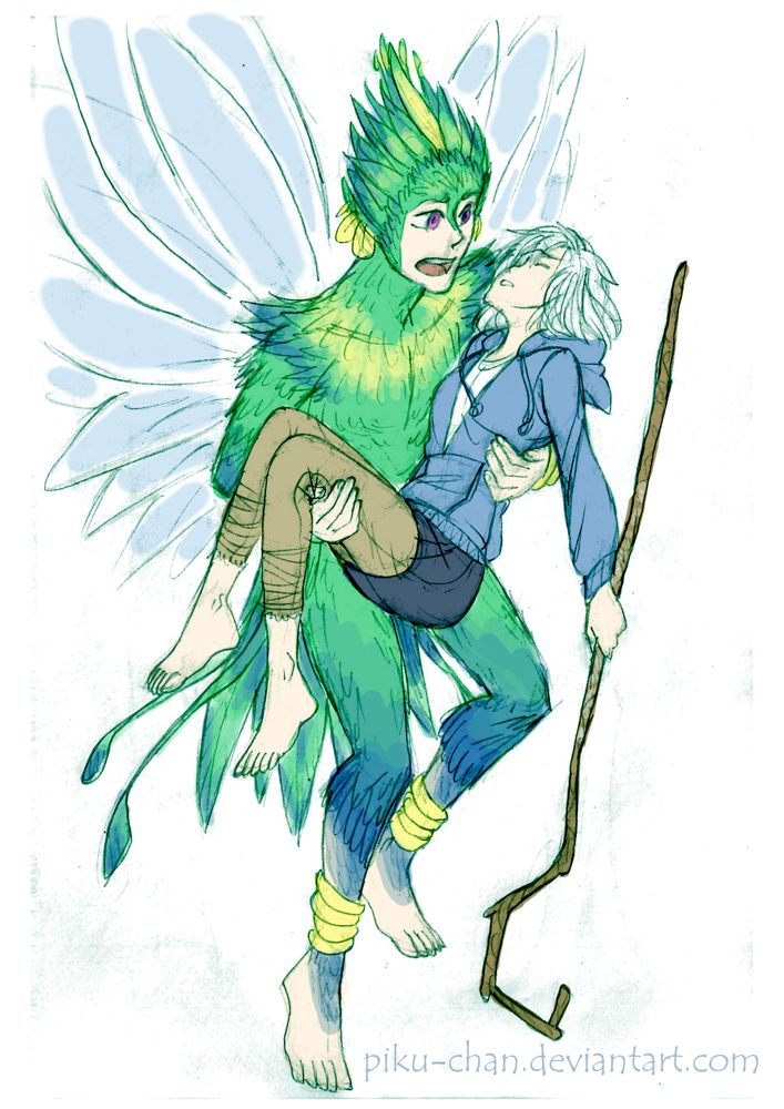 Rise Of The Guardians Tooth Fairy And Jack Frost ...