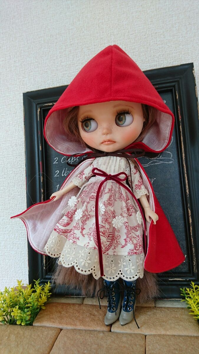 *mint cat*ネオブライスアウトフィット~redうさぎセット_画像1 Little Red Dresses, dress, clothe, women's fashion, outfit inspiration, pretty clothes, shoes, bags and accessories