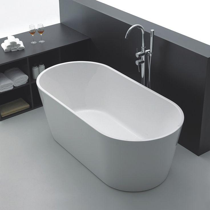 </br> <p>Celeste Venezia er et badekar i moderne design, i 170 cm lengde. Badekaret leveres med skjulte justerbare ben i aluminium og push-up bunnventil. Badekaret i hvit akryl har høy slitestyrke med en blank overflate som gjør det hygienisk. Justerbare