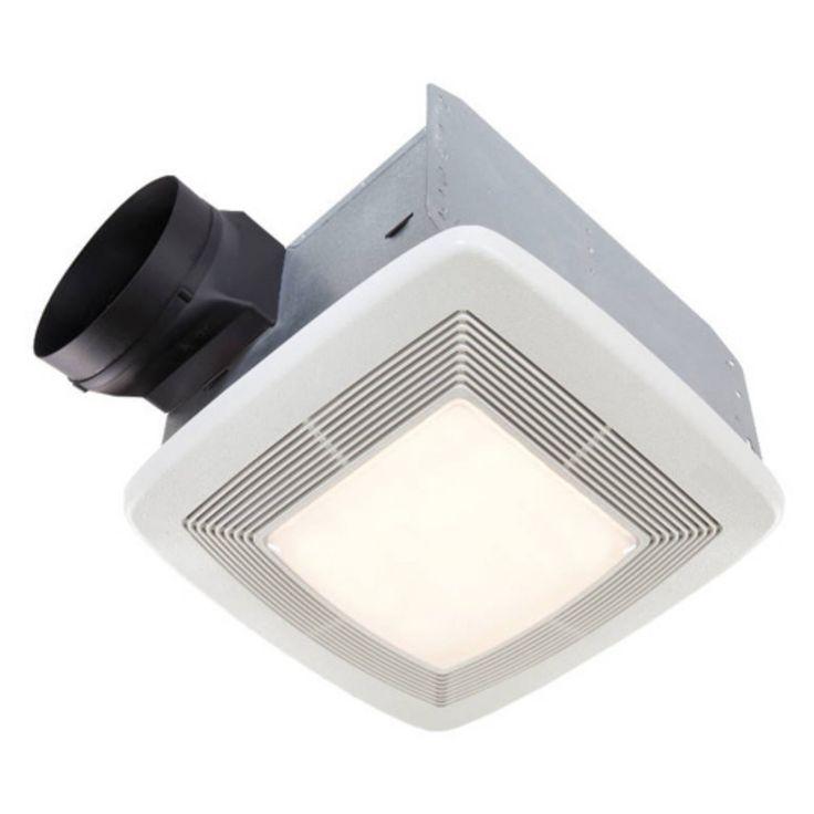 Broan-Nutone QTXE150FLT Ultra Silent Bathroom Fan / Light / Night-Light - ENERGY STAR - QTXE150FLT