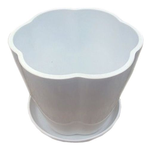 Take The Tray Faceplate Plastic Grass In 7 Colour Green Flowerpot(White)