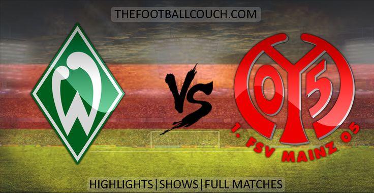 [Video] Bundesliga Werder Bremen vs Mainz 05 Highlights - http://ow.ly/ZHQHK - #WerderBremen #Mainz05 #soccerhighlights #footballhighlights #football #soccer #fussball #germanfootball #thefootballcouch