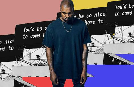 Kanye West shares his version of The-Dream's 'Bed' from Yeezy Season 5 show