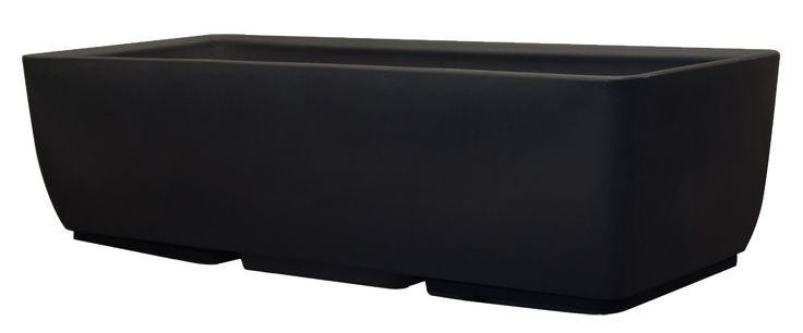 36x15 Black RTS Home Accents Planter