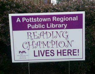 Library Lawn Signs Sprout Across Lower Pottsgrove - The Sanatoga Post -
