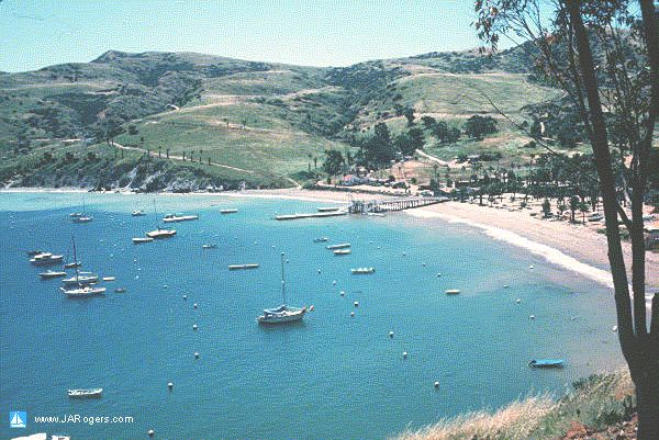 Ithmus Cove, Two Harbors, Catalina Island, California