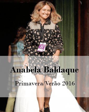 ANABELA BALDAQUE: PRIMAVERA/VERÃO 2016