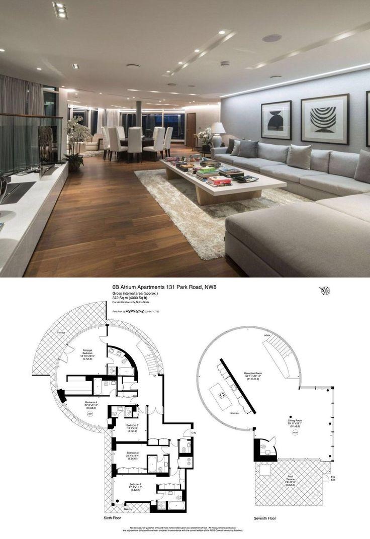 Atrium Apartments, 131 Park Road, St. Johns Wood, London ...