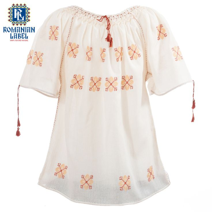 $54 Longer than the usual traditional blouse, the traditional dress for children is perfect for a sunny summer day