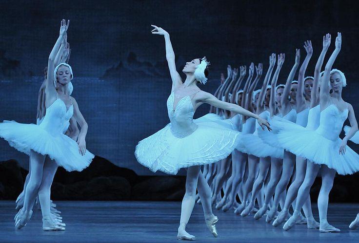 Viktoria Tereshkina in <I>Swan Lake</I>.<br /