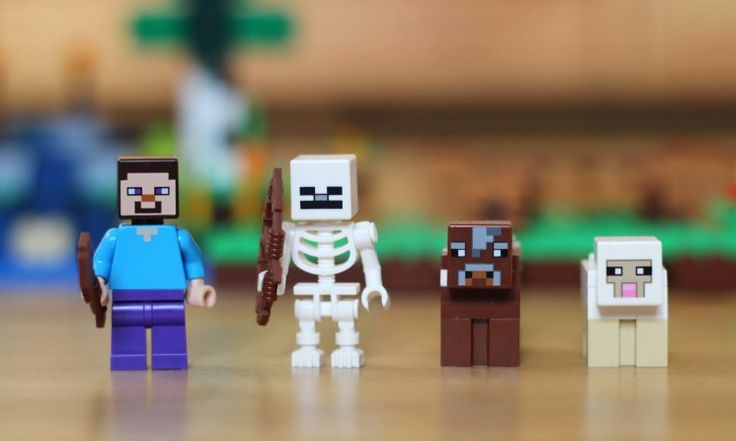 Klocki Lego Minecraft, pomysł jak odciągnąć dzieci sprzed komputera używając... gry komputerowej <3