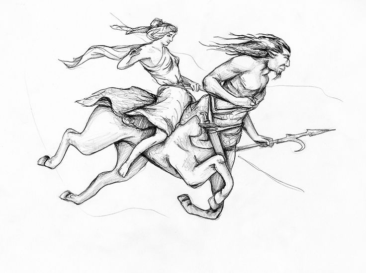 Από το βουνό των κενταύρων στο βουνό του Προμηθέα - Κείμενο: Μελέτης Τσαχουρίδης - Σχέδιο: Ειρήνη Θεοδωρίδου