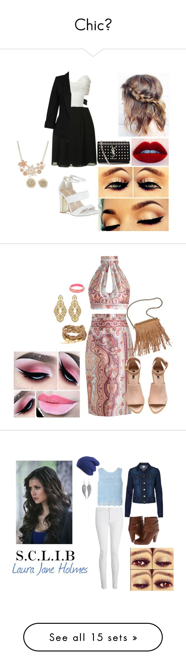 """""""Chicღ"""" by love666x on Polyvore featuring arte, Summer, chic, summerstyle, chicstyle, fanfiction, Capitulo05, sclib, LauraJaneHolmes y TinaHillary"""