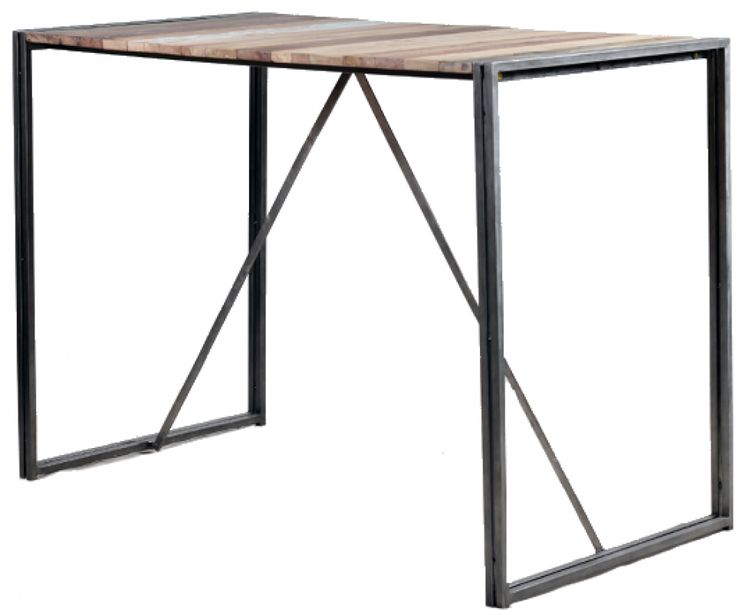 1000 ideas about mange debout on pinterest ikea hack - Table mange debout rectangulaire ...