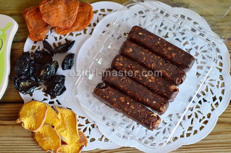 Шоколадные батончики мюсли