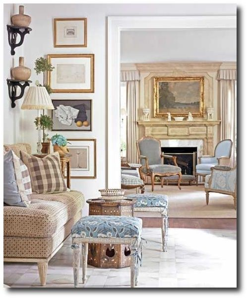 dan carithers images | dan carithers french style decorating featured in southern accents dan
