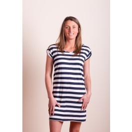 Skin and Threads Rolled Sleeve Tee Dress