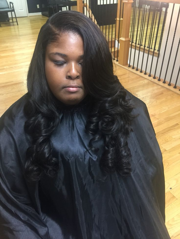 about Weave on Pinterest | Hair Studio, Full Weave and Full Sew In