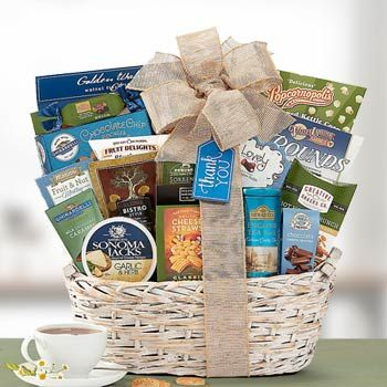 Thank You Gourmet Gift Basket. See more gifts at www.pro-gift-baskets.com!