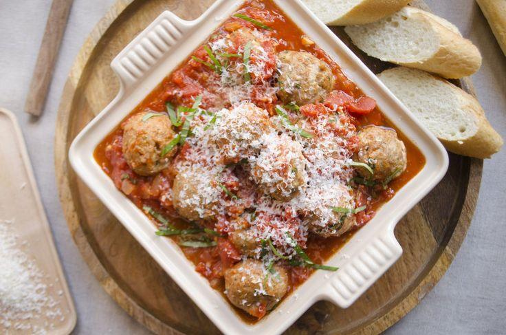 Giada's Classic Italian Turkey Meatballs | Giada De Laurentiis
