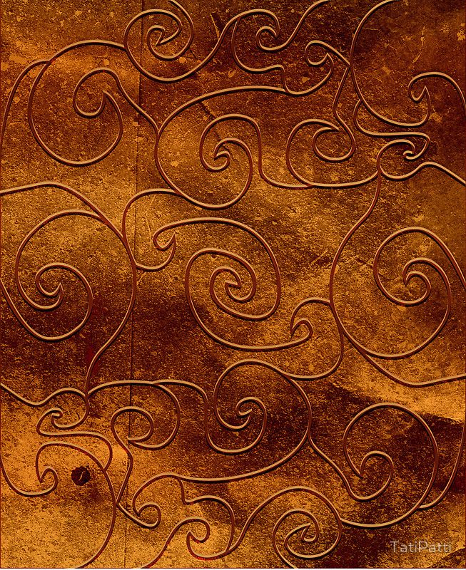 Brown swirls, case available for iPhone, iPad and Samsung Galaxy!