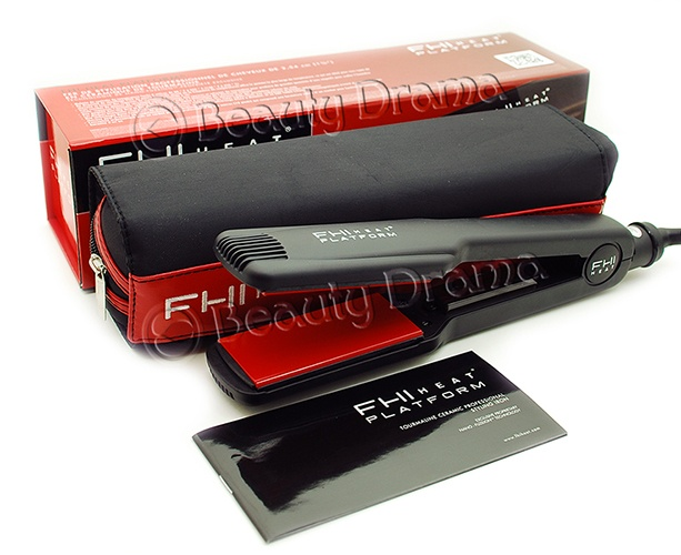 FHI Heat Platform Tourmaline Ceramic Pro 1 3/4quot; 1.75 Hair Flat Iron