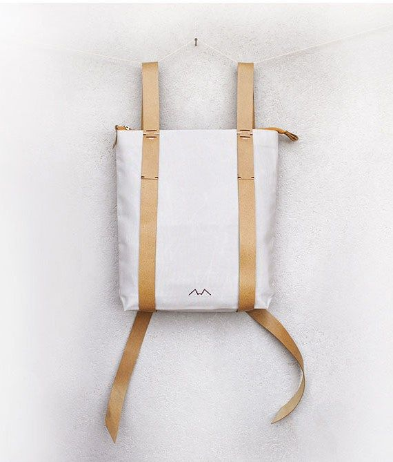 zipper daypack 101 inconnulab Minimalist backpack for urban travelers.