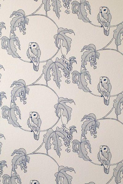 Owl Wallpaper - don't mind if I do!