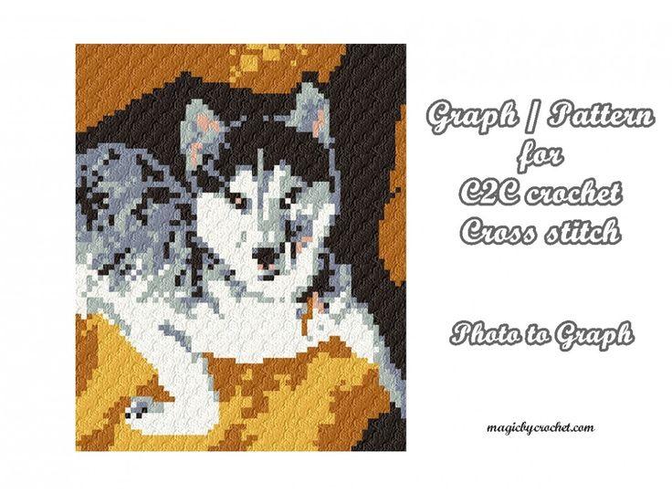 145 best C2C crochet images on Pinterest | Ganchillo esquina a ...