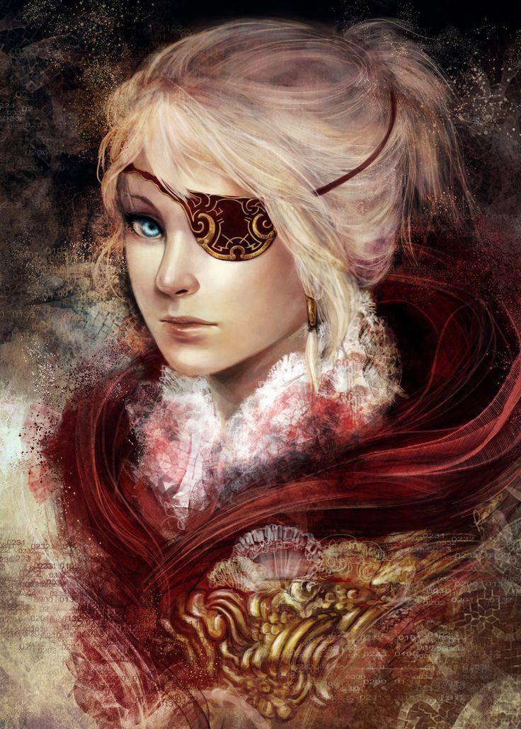 Scarlet - eyepatch ver by kureo95