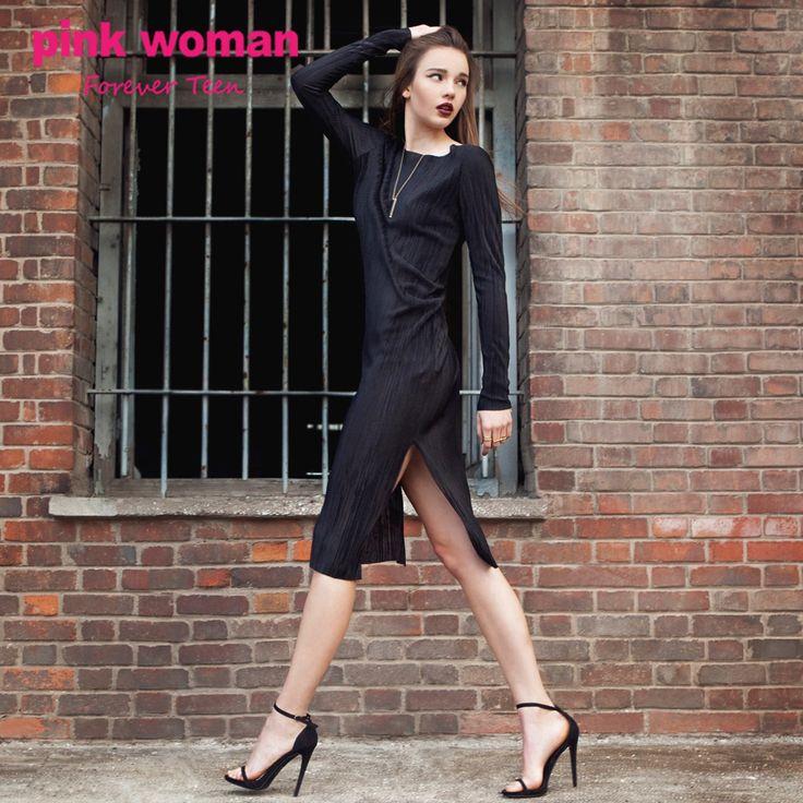 Το πιο chic look για την βραδινή σου έξοδο!! Shop online at https://www.pinkwoman-fashion.com/