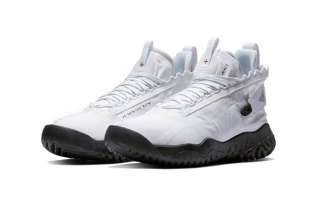 08ef2bfedc04 jordan brand proto react 2019 footwear white black metallic silver white  sail