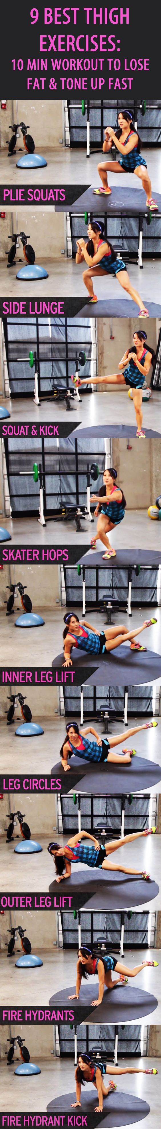 9 BEST THIGH EXERCISES: Our favorite fitness trainer Kelsey Lee