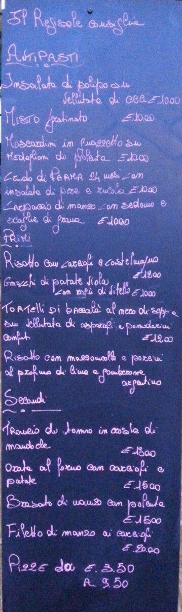 Food infographica! Alla Pizzeria Regisole, in piazza Duomo, a Pavia