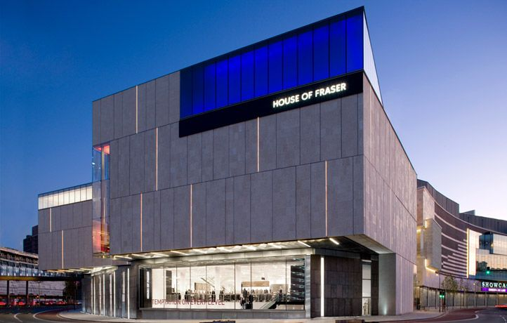 House of Fraser Store   Stanton Williams Architects