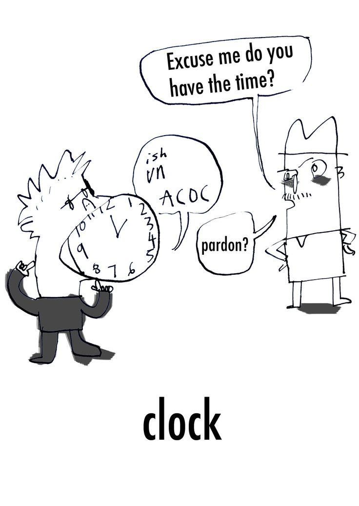 Clock. LowHumour.com