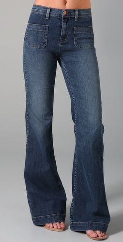 Jeans that I love....Im guessing Id need that flat tummy though too, yeah?
