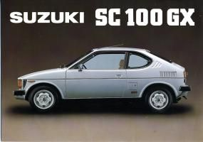 Suzuki SC 100 GX Coupe de Luxe: my first love!