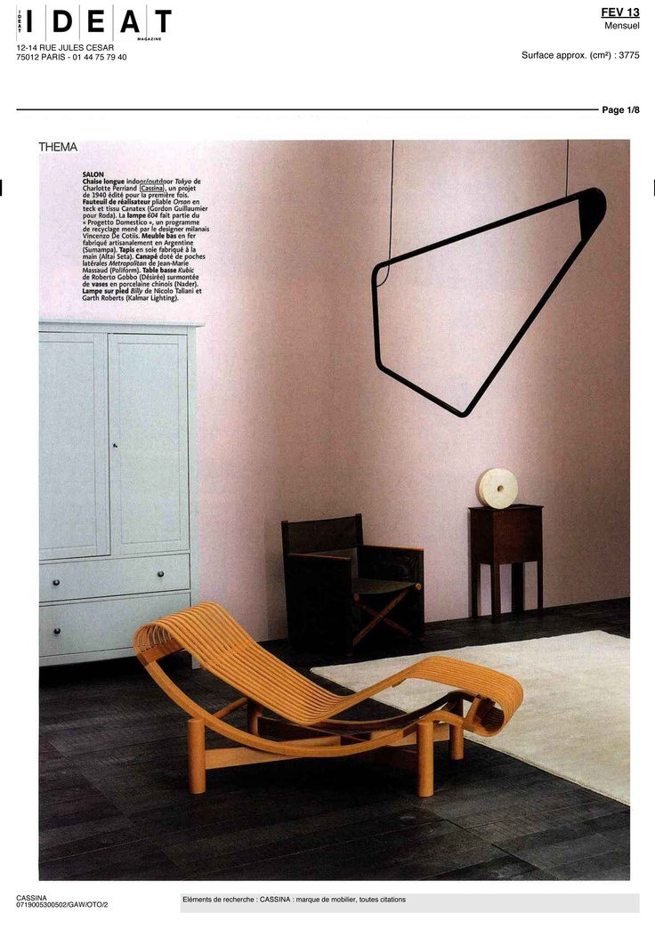IDEAT - TOKYO OUTDOOR, design Charlotte Perriand