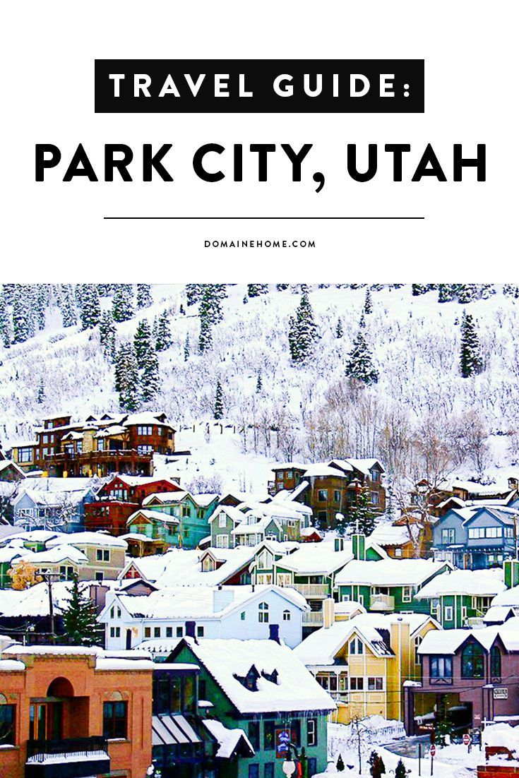 Where to stay, what to do, and the best places to wine and dine in Park City, Utah.
