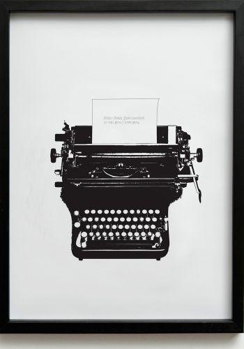 Bring the typewriter back!