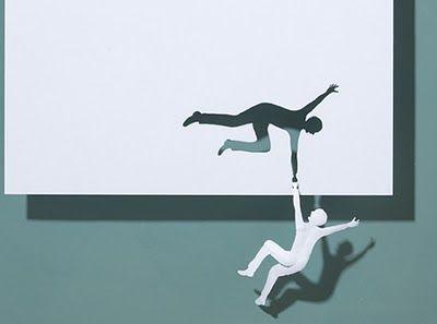 Falling man: Paper Cut Outs, Cutout, Peter Callesen, Paper Art, Paper Sculpture, Paper Work, Paperart, Cut Paper, Paper Crafts