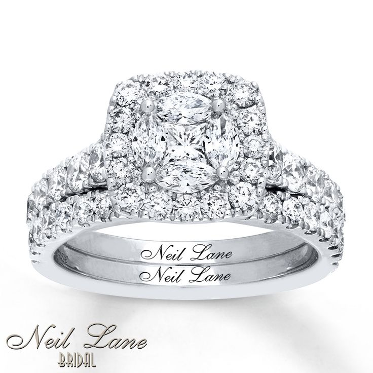 Beautiful The brilliant centerpiece of this lovely engagement ring from the Neil Lane Bridal collection is