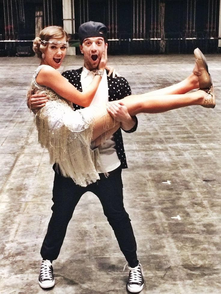 Mark Ballas & Sadie Robertson  -  Dancing With the Stars  -  Week 5  Switch-up week  -  10/13/2014